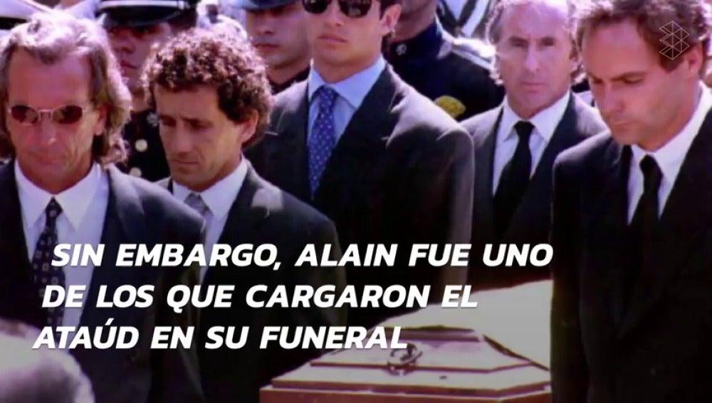 Frame 51.983516 de: Las leyendas nunca mueren: se cumplen 23 años de la muerte de Ayrton Senna en Ímola