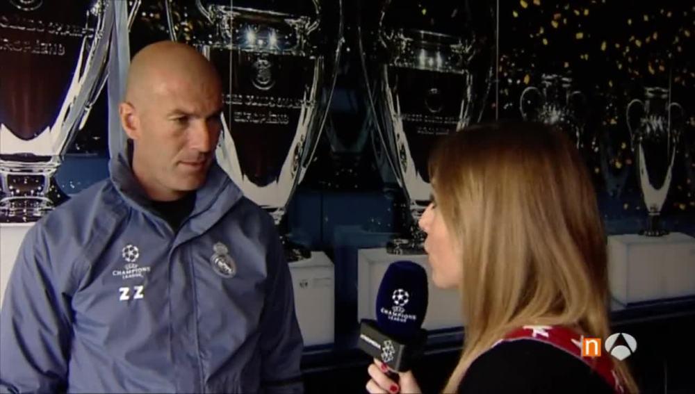 Zidane contesta a Susana Guasch