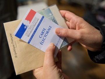 Votaciones en Francia