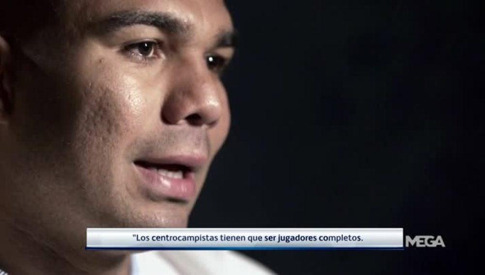 Casemiro, centrocampista del Real Madrid
