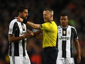 Kuipers, en un partido con la Juventus