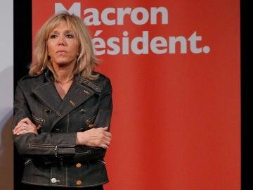 Brigitte Trogneux, la esposa de Emmanuel Macron