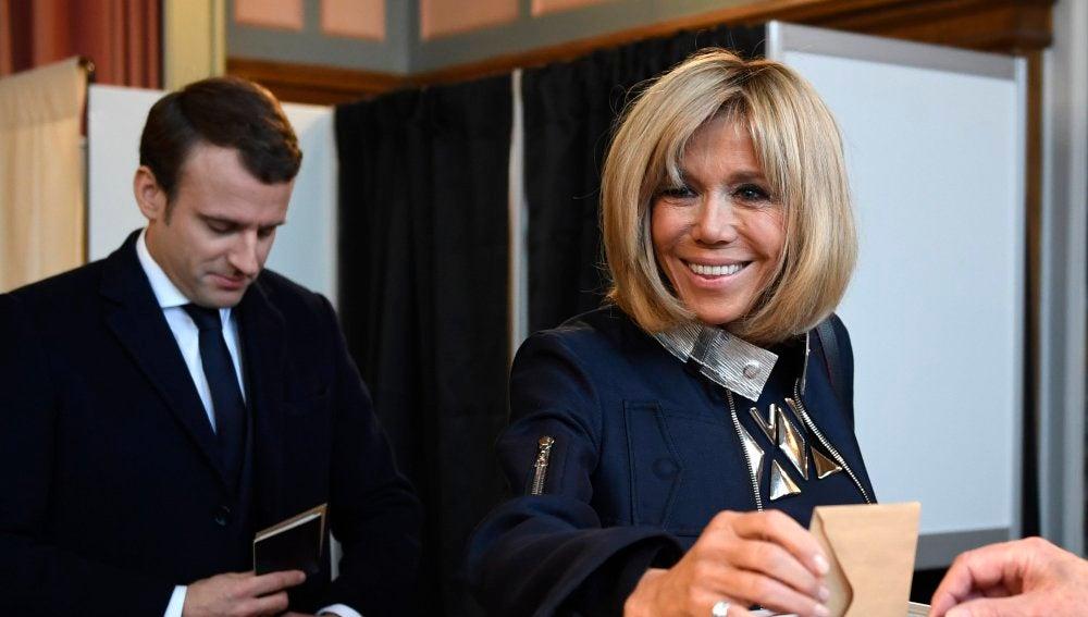 La mujer tras el éxito de Macron