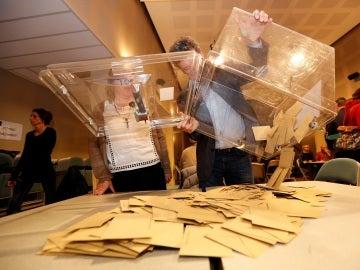 Colegios electorales en Francia