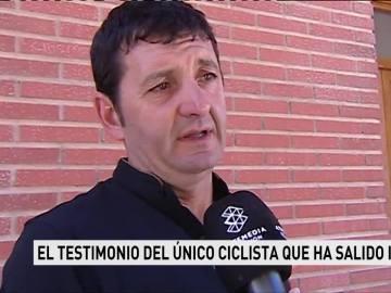 Jaime Escortell, el único ciclista que ha salido ileso del atropello mortal en Oliva