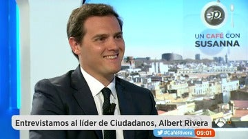 Albert Rivera, en Espejo Público