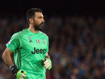 Buffon, portero de la Juventus