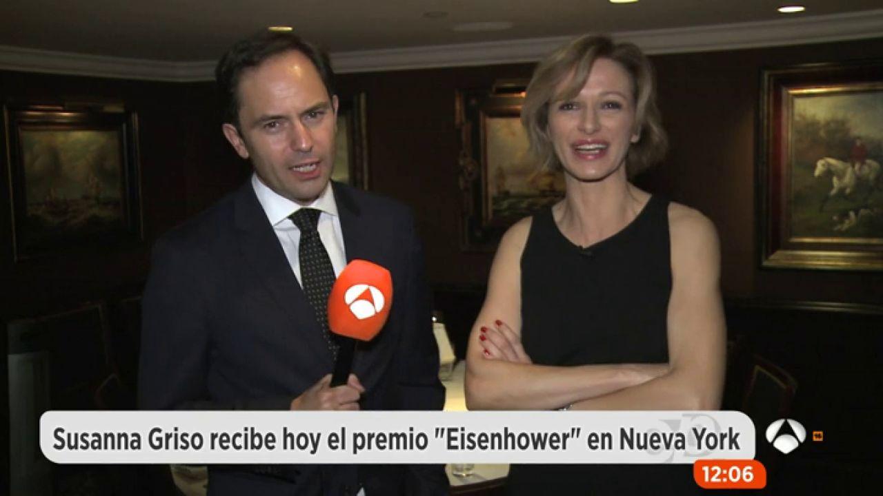 Susanna griso recibe el premio 39 eisenhower 39 a la libertad for Espejo publico hoy completo