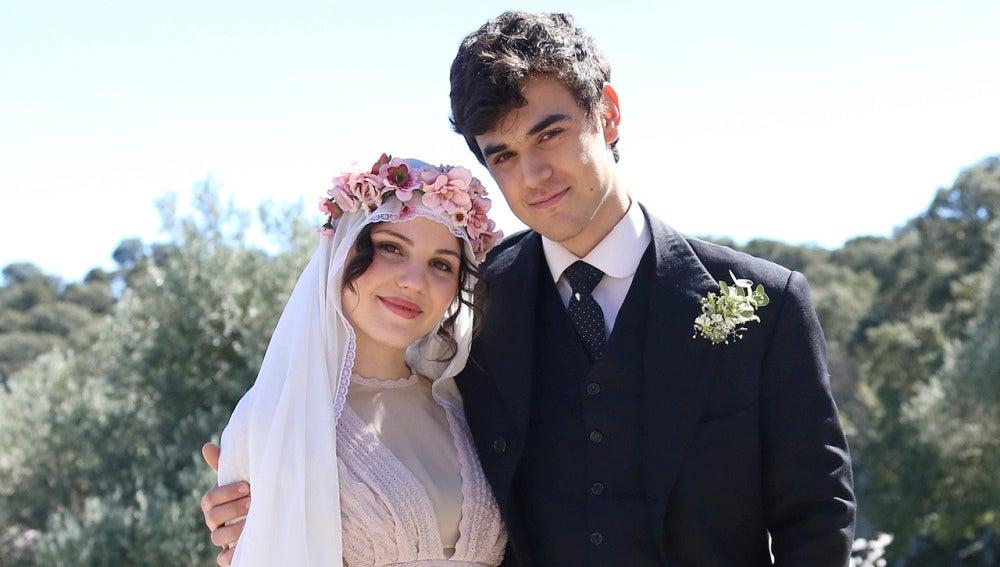 ¡Matías y Marcela ya son marido y mujer!