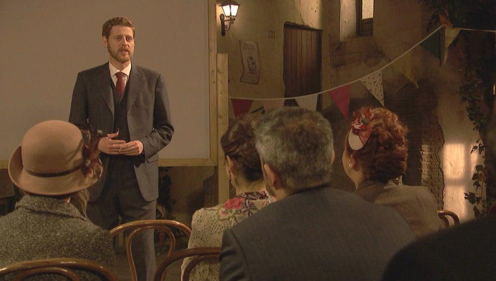Puente Viejo reproduce su primera película en honor a Mariana Castañeda