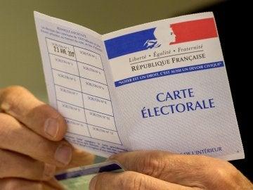 Voto de las elecciones francesas