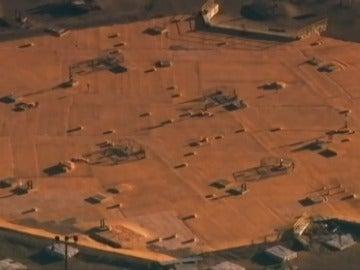 Frame 10.2253 de: Alerta en una central nuclear de EEUU al derrumbarse un túnel por el que se transportaban materiales radioactivos