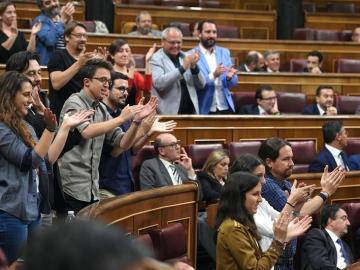 PP y Podemos se enzarzan en el Congreso por Venezuela y la corrupción