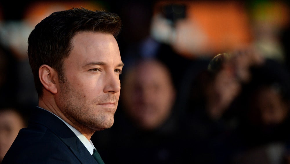 Ben Affleck en la premiere de 'Batman v Superman'
