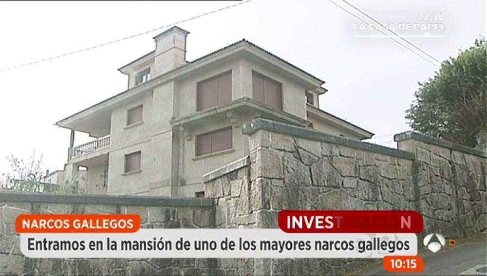 Frame 138.32 de: Salen a subasta 21 propiedades de los grandes narcos de los años 90, entre ellos, una mansión de Laureano Oubiña.