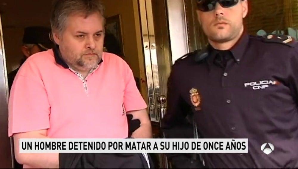 Detenido por matar a su hijo