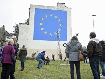 El mural de Banksy sobre el Brexit en Dover