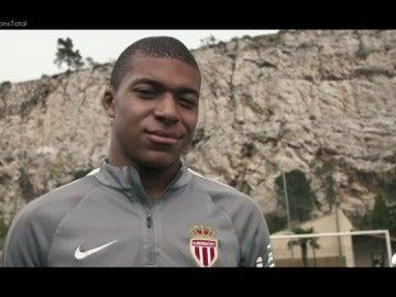 """Frame 97.222756 de: Mbappé, el corazón del Mónaco que empezó en los suburbios: """"No tenía ni botas"""""""