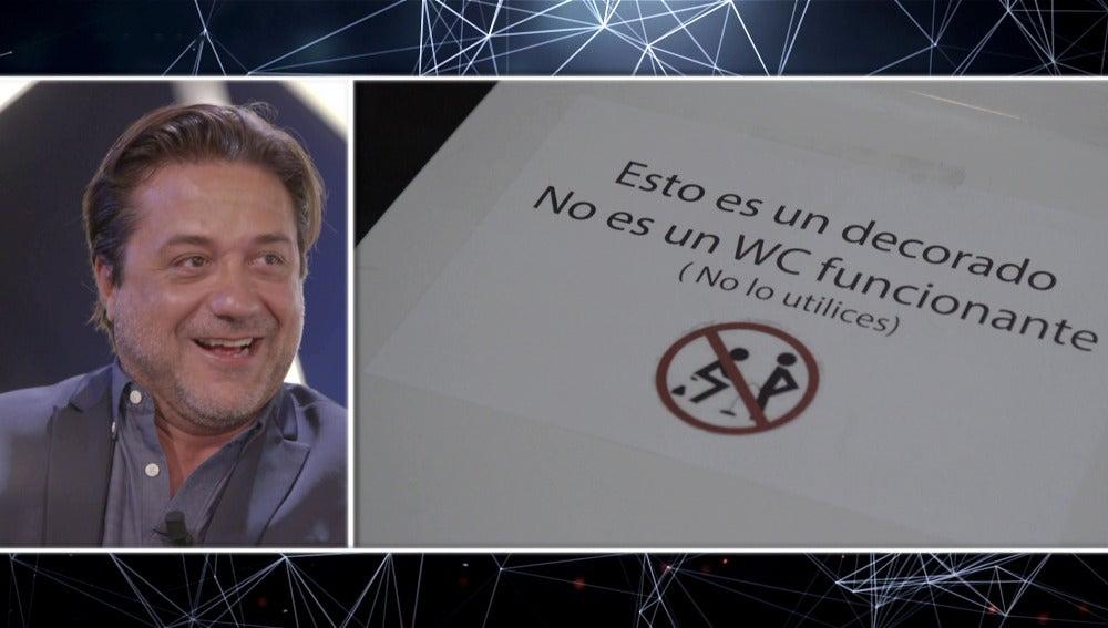 Enrique Arce confiesa su anécdota más escatológica dentro 'La casa de papel'