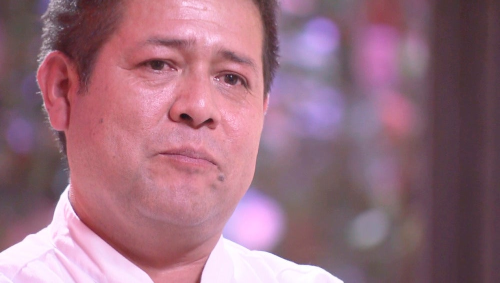 Víctor se emociona al recordar a sus hijas en la última oportunidad