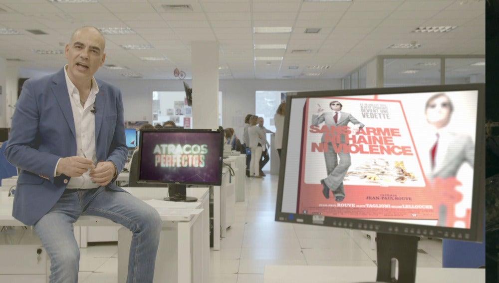 Nacho Abad explica cómo fue el atraco al banco de Niza