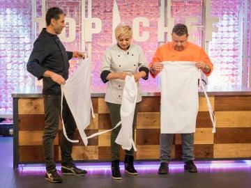 Esta noche, el jurado se mete entre fogones en la semifinal de 'Top Chef'