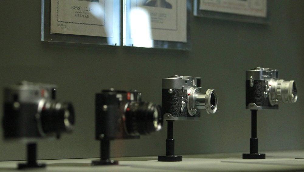 La cámara de fotos Leica