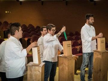 Rakel se convierte en la primera finalista de la cuarta edición de 'Top Chef'