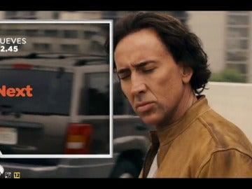 Frame 9.920404 de: Nicolas Cage protagoniza 'Next' en Antena 3