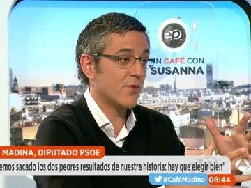 Eduardo Madina en 'Un café con Susanna'