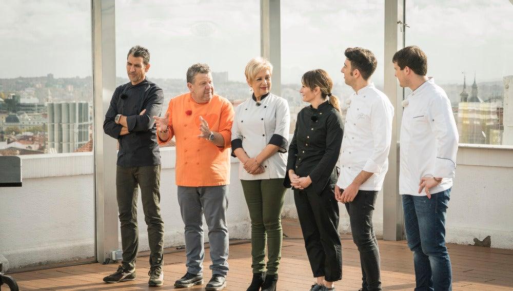 Los tres ganadores de 'Top Chef' vuelven a las cocinas del programa