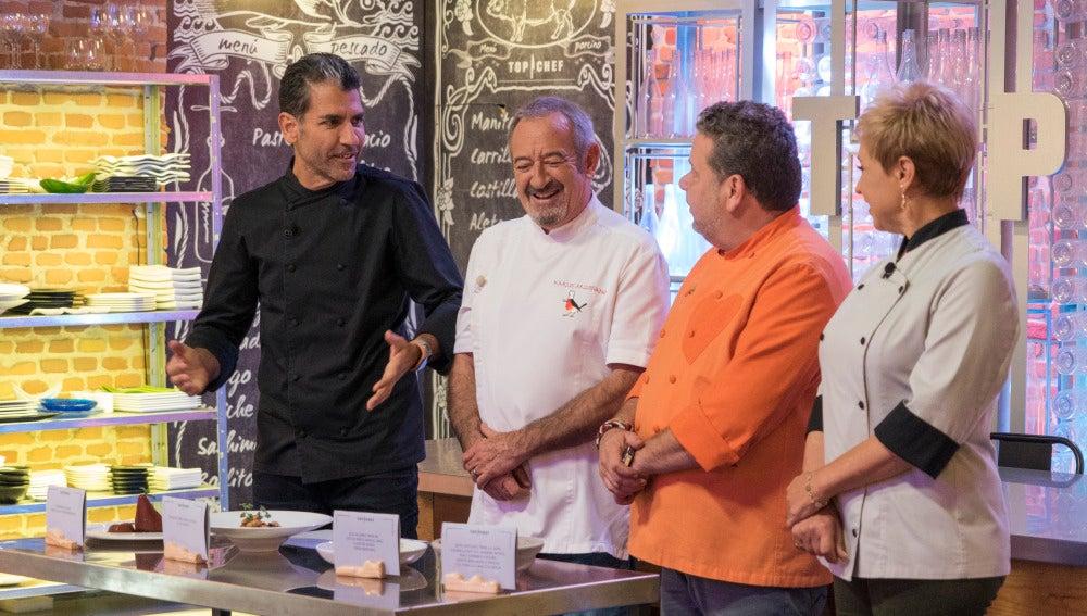 Karlos Arguiñano, invitado de lujo en una semifinal de 'Top Chef' llena de refranes