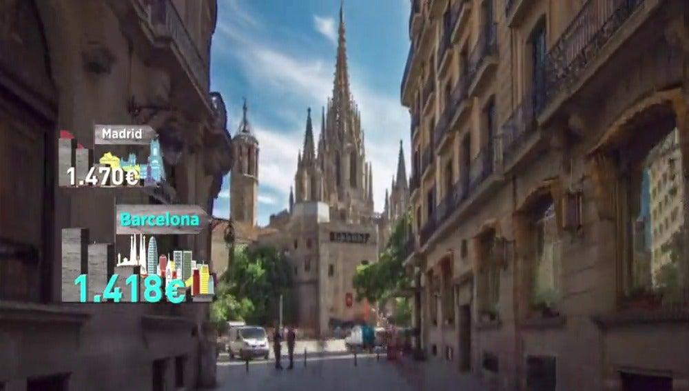 Frame 71.839193 de: El poder adquisitivo de los salarios en España cae un 2.4% en el último lustro