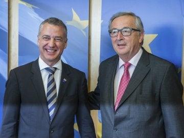 Urkullu pide a la UE que el gobierno español comience el diálogo