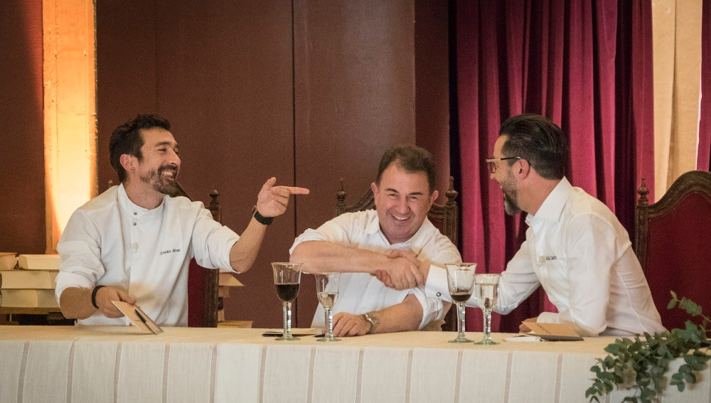 Quique Dacosta, Eneko Atxa y Martín Berasategui, jurado de infarto para una semifinal de 'Top Chef' sin precedentes