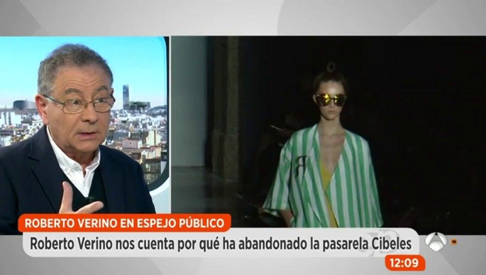 """Roberto Verino: """"Le tengo envidia sana a Amancio Ortega porque nos ayuda a no conformarnos"""""""
