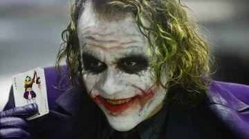 Heath Ledger en 'El caballero oscuro'