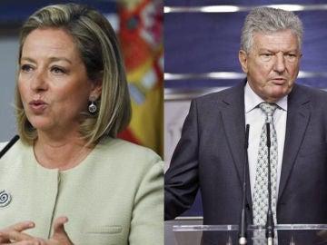 Ana Oramas y Pedro Quevedo