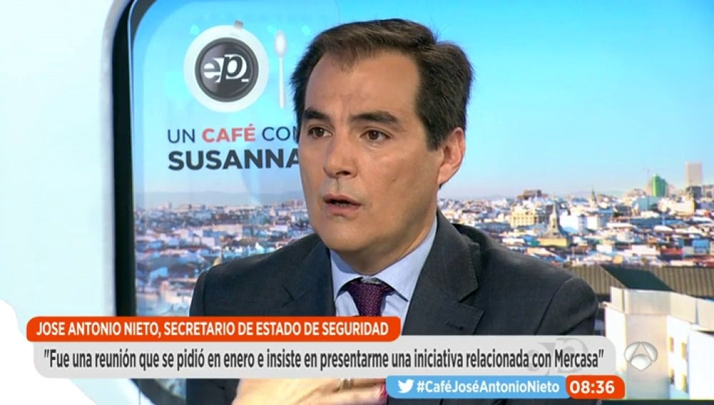 José Antonio Nieto en Espejo Público