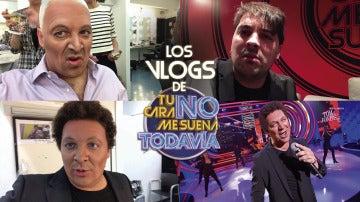 David Moreno recorre los pasillos de 'Tu cara no me suena todavía' transmitiendo alegría y buen humor