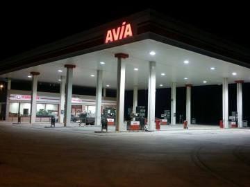 La gasolinera LA Carlota Aservi