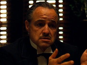 Marlon Brando en 'El padrino'