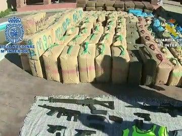 Frame 55.406747 de: Desarticulada la mayor organización de tráfico de hachís en España