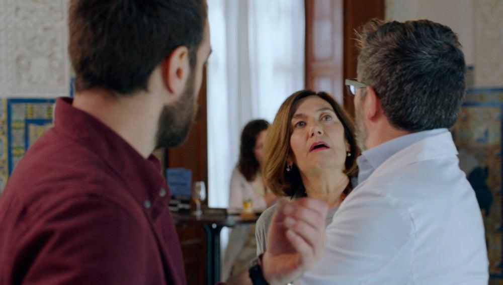 Ane Gabarain protagoniza las tomas falsas de 'Allí Abajo'