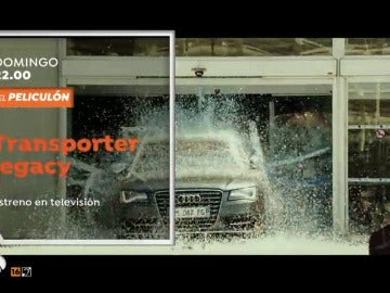 Frame 7.353082 de: El Peliculón estrena 'Transporter Legacy'
