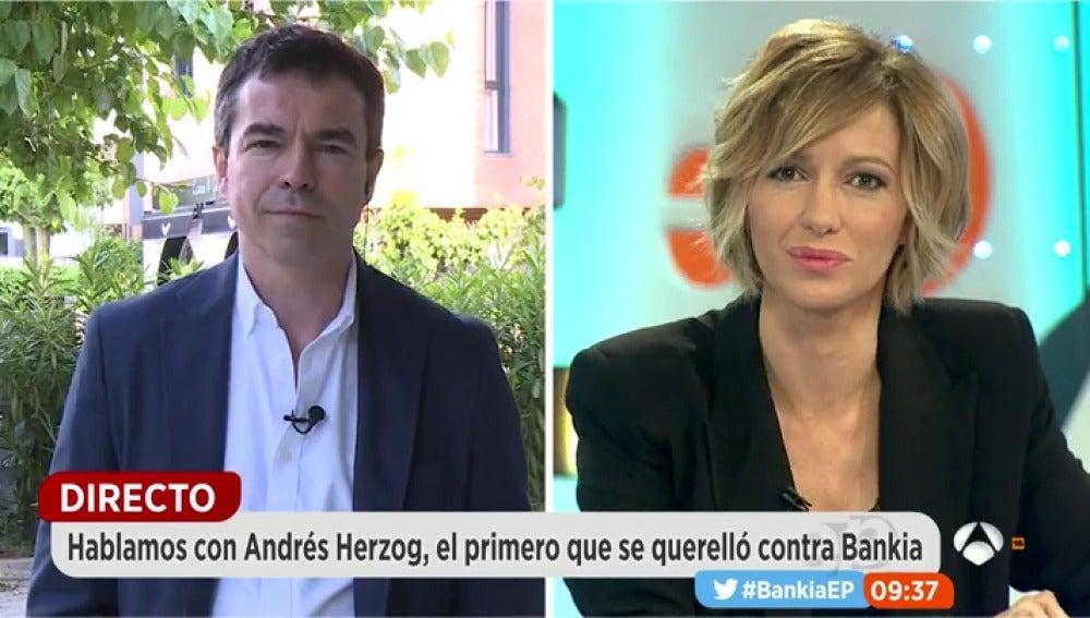 Andrés Herzog en Espejo Público