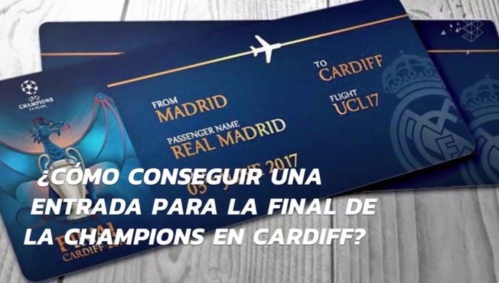 Frame 6.278918 de: ¿Cómo conseguir una entrada para ver la final de Champions 2017 Juventus de Turín-Real Madrid?