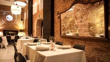 El restaurante Bodega de los Secretos de Madrid, bajo el barrio de Las Letras.