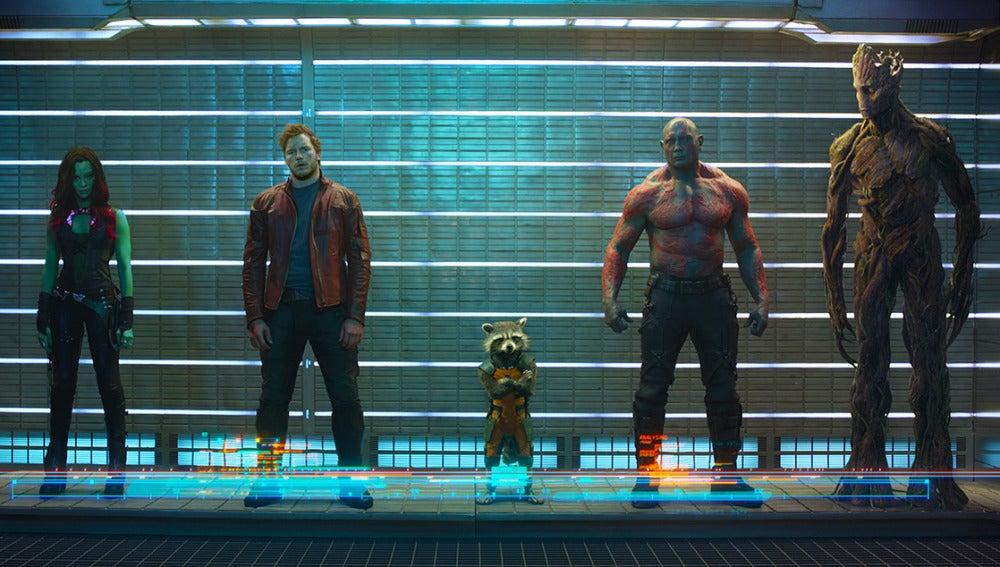 Fotograma de 'Guardianes de la Galaxia'