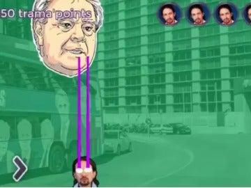 Iglesias protagoniza videojuego en el que dispara con la mirada a la 'trama'